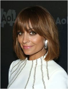 ss nicole richie 325—425 Medium Hairstyles Bang Hairstyles Layered Hairstyles