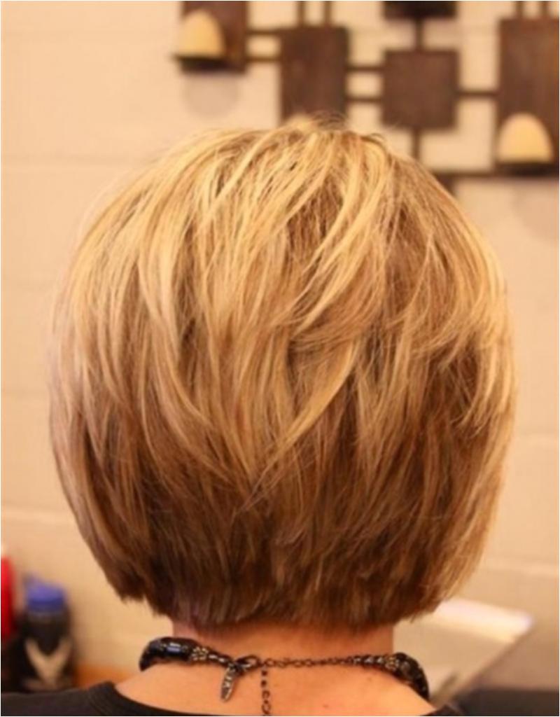 2019 Bob Hairstyles Back View Awesome Layered Short Hair Back View Odmalicka as to Bridesmaid Hair