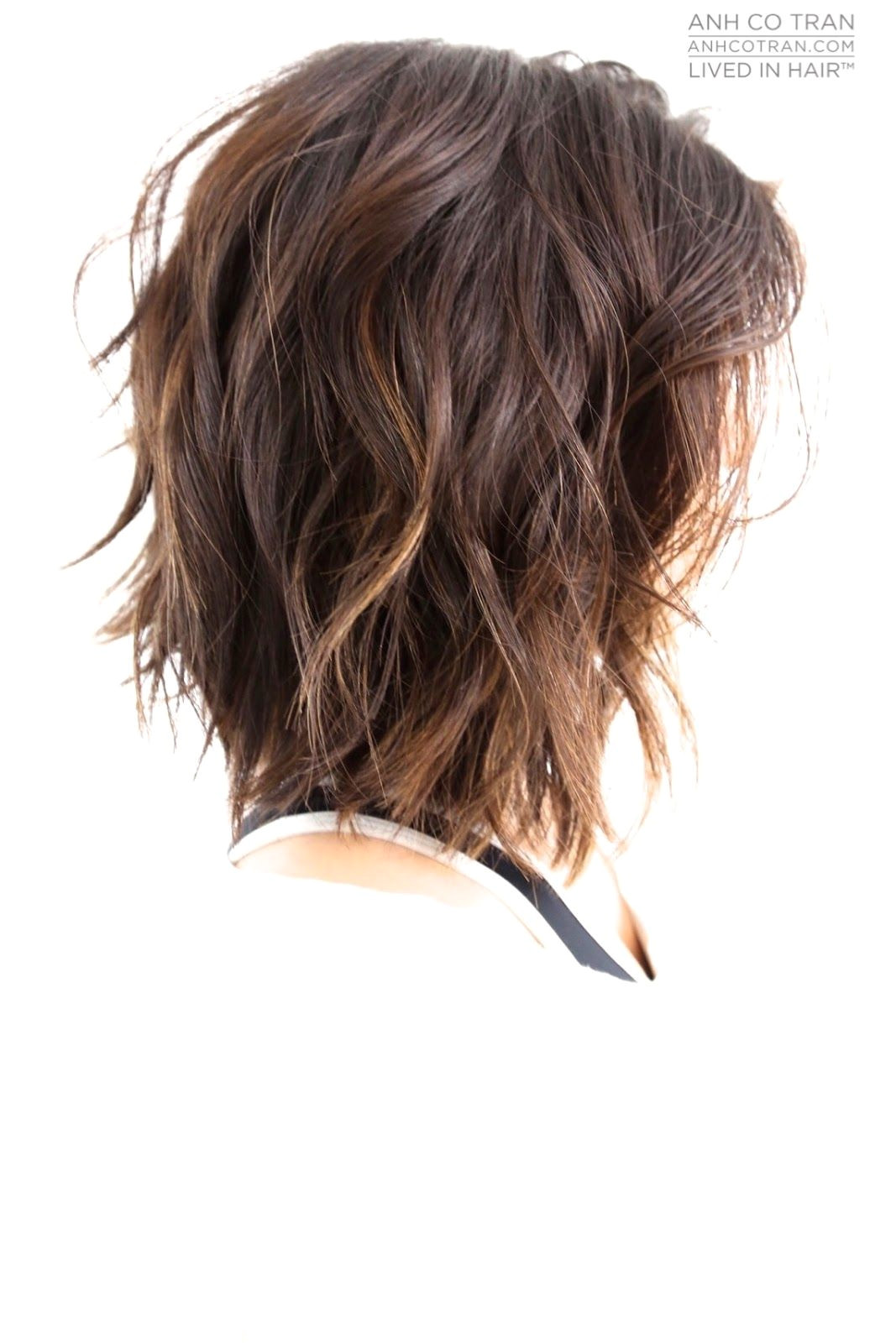 Bob Hairstyles for Round Faces and Thick Hair Anh Co Tran Cabelos Pinterest