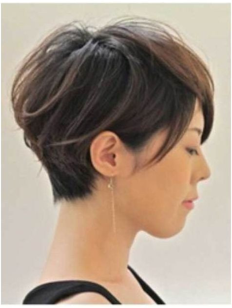 Funky short pixie haircut with long bangs ideas 46 Fashion Best