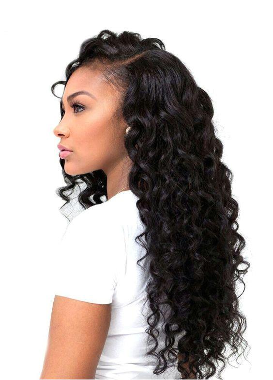 UNice Hair Extensions Brazilian Natural Wave Human Hair 4Pcs lot Natural Wave