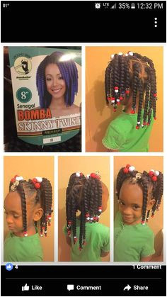 I HATE the idea of putting hair in Samiyah head but this style is cute