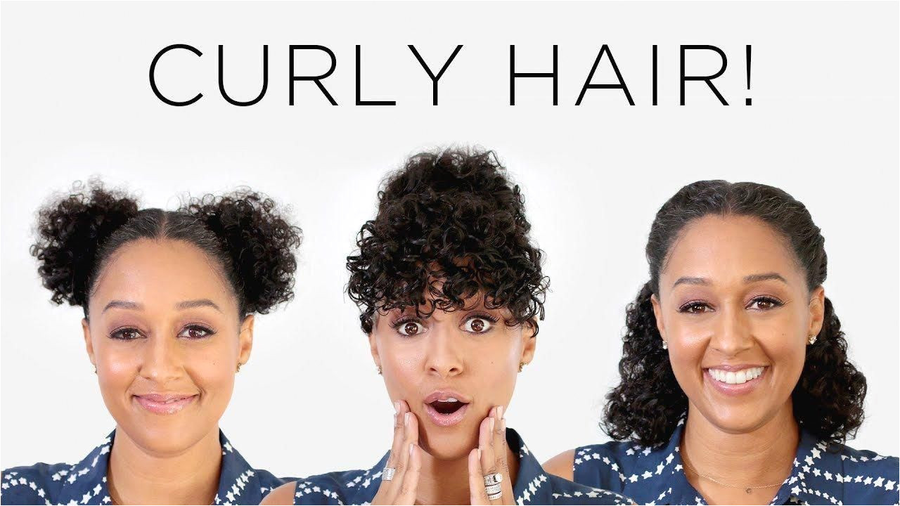 Tia Mowry s 3 Instagram Hairstyles for Curly Hair