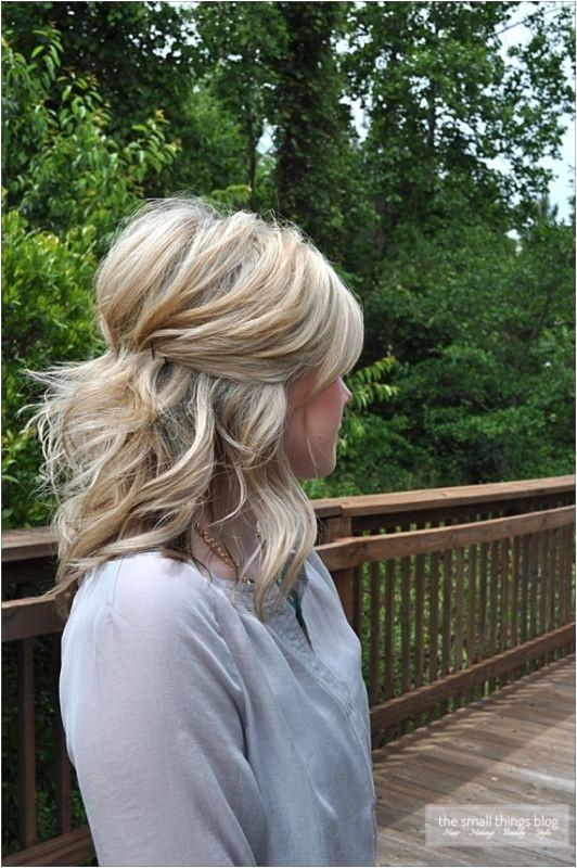 35 Pretty Half Updo Wedding Hairstyles