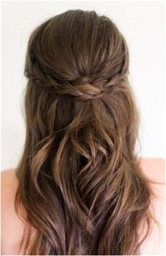 Wedding Hairstyles For Medium Length Hair Half Up Half Down