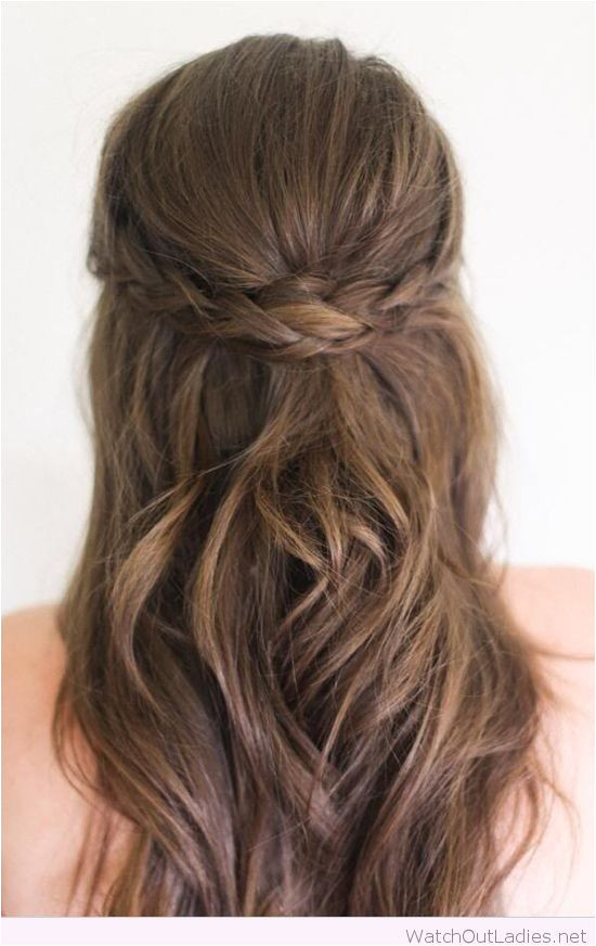 Image result for long hair down formal