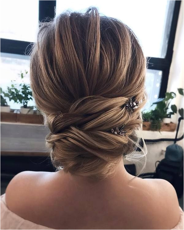 Top 20 Long Wedding Hairstyles and Updos for 2019 Wedding Updo Pinterest