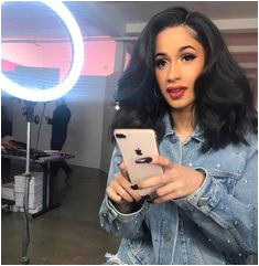 3 757 Likes 32 ments Cardi B ficial 1 & 1st FP