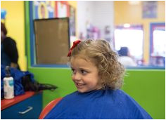 Capitol Momma shares her spring haircut experience at our Congressional Plaza salon Cartoon Kids