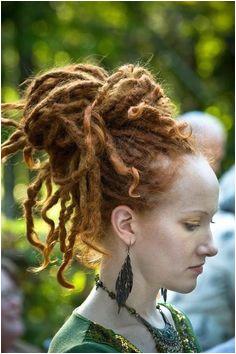 Lovvvveeeee Dreadlocks Updo Red Dreads Dreadlock Hairstyles Celtic
