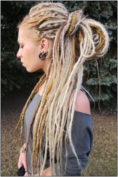 Celtic Hairstyles Dreadlocks 247 Best Dreads Images