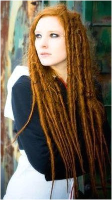 EVERYONE had dreadlocks the Celts WHITE PEOPLE called them Fairy Locks because they