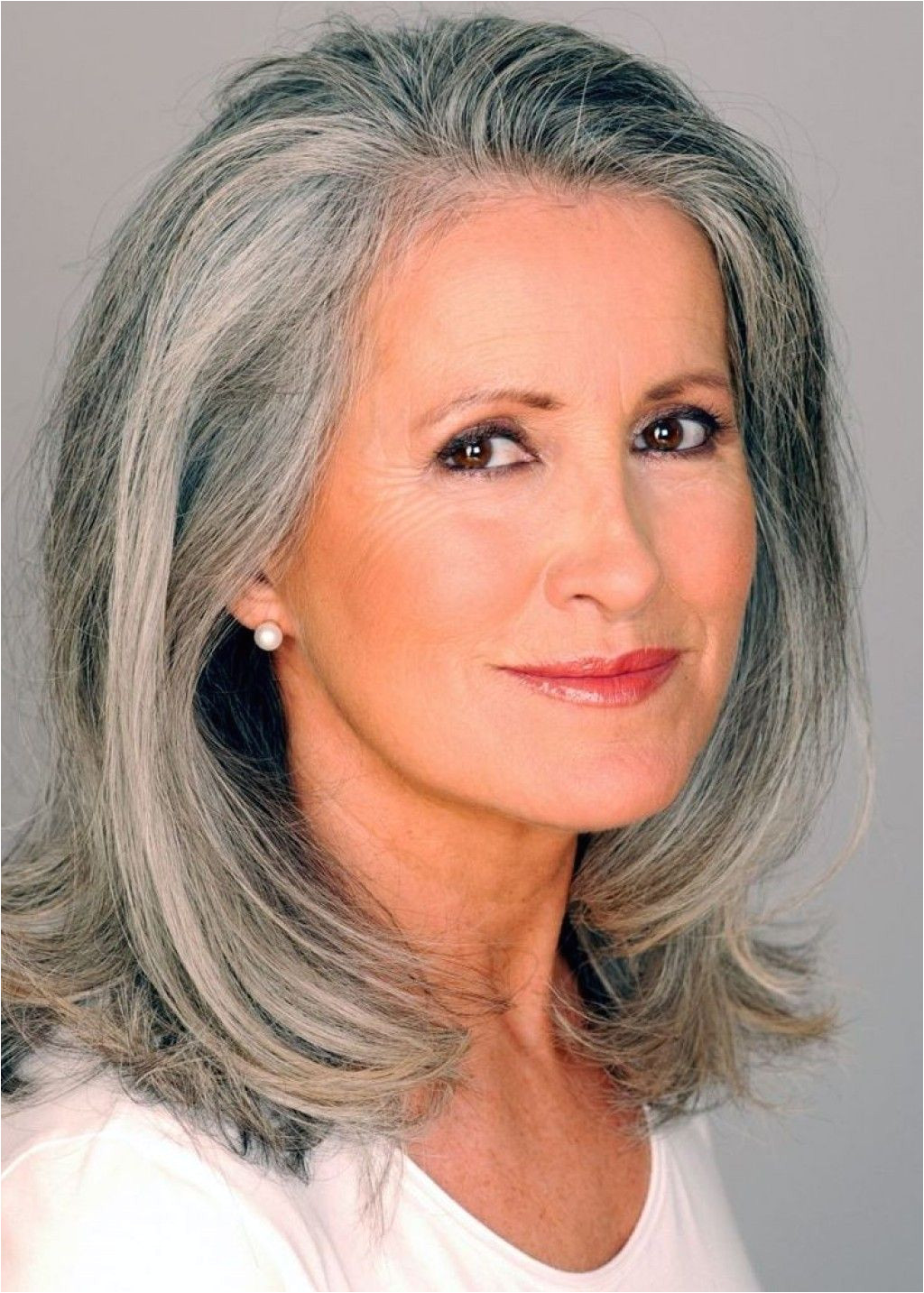 So many women fight the appearance of gray hair I say why not embrace this stunning look and make the most of it