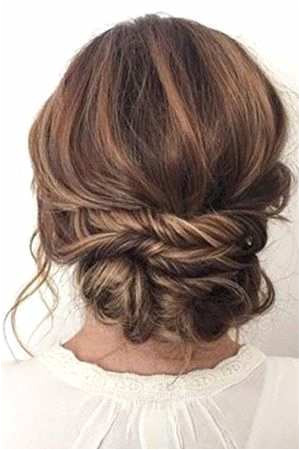 How to Medium Length Hairstyles Captivating Hairstyle Wedding Awesome Messy Hairstyles 0d Wedding