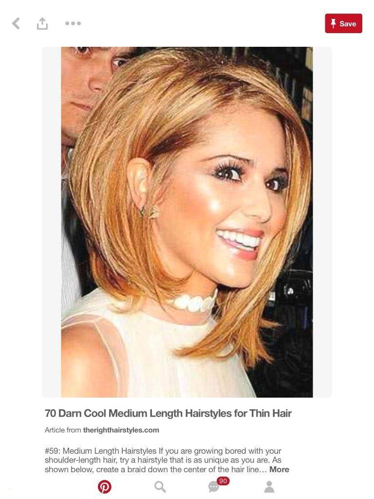 Hairstyle Ideas for Medium Length Hair Bestof Thin Hair Color Ideas Awesome Outstanding Curly Hair Idea