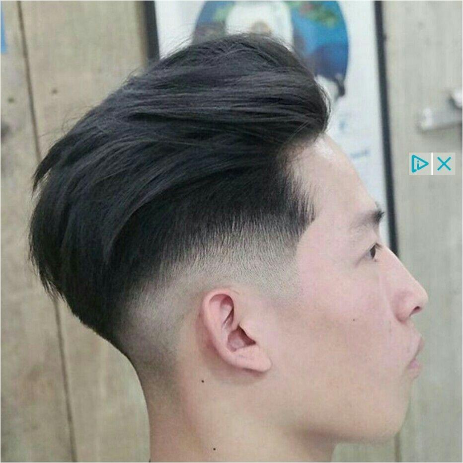 Asian men hair