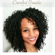 Crochet Braids with Freetress Aruba Curl 2 5 packs cut in half prior to installation