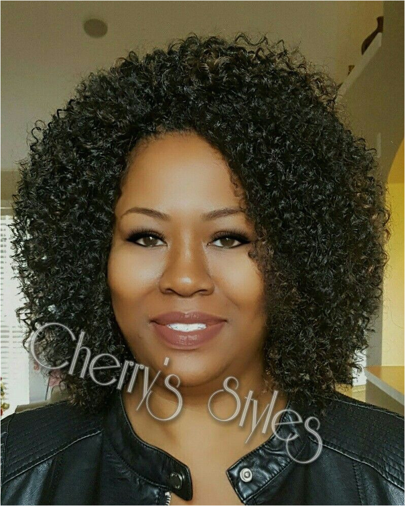 Kima Brazilian Twist and Kima Bohemian custom mix crochet braids in colors 1b 30 cherrystyles crochetbraids memphiscrochetstylist memphiscrochetbraids