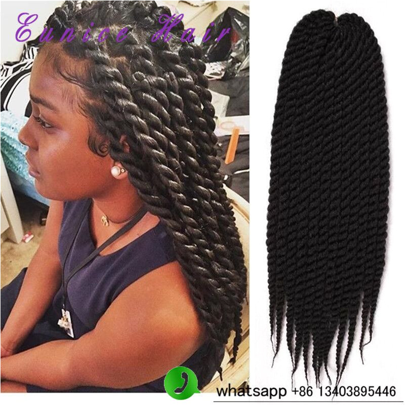 2X Havana Mambo Twist Braiding Hair Havana Twist Crochet Braids