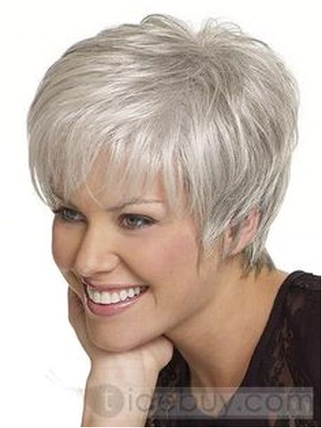 Cropped Hairstyles for Grey Hair Short Hair for Women Over 60 with Glasses