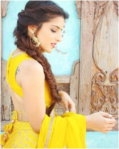 Hairstyles For Curly Hair Lehenga curly hairstyles hairstylesforcurlyhair lehenga Fishtail Braid