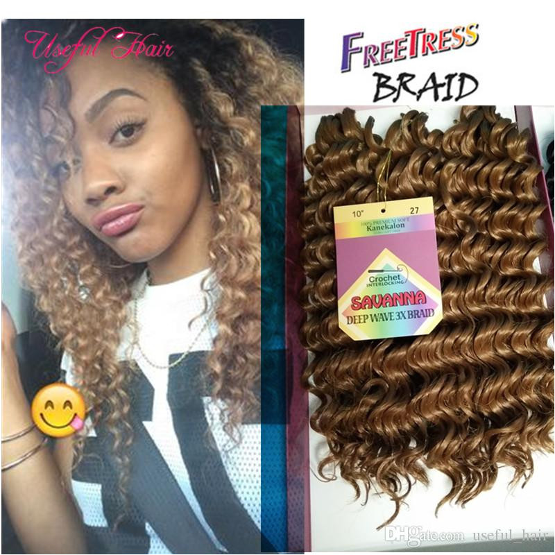 2019 Hot Sell Jerry Curl Christmas Gifts Wedding Guest Synthetic Braiding Hair Crochet Braids Hair Prelooped Curly Weave Hair Extensions From Useful hair