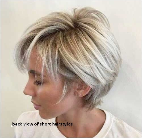 Hairstyle for Short Hair for Girl Inspirational Bob Hairstyles Back View Fascinating Back Hair Colors From