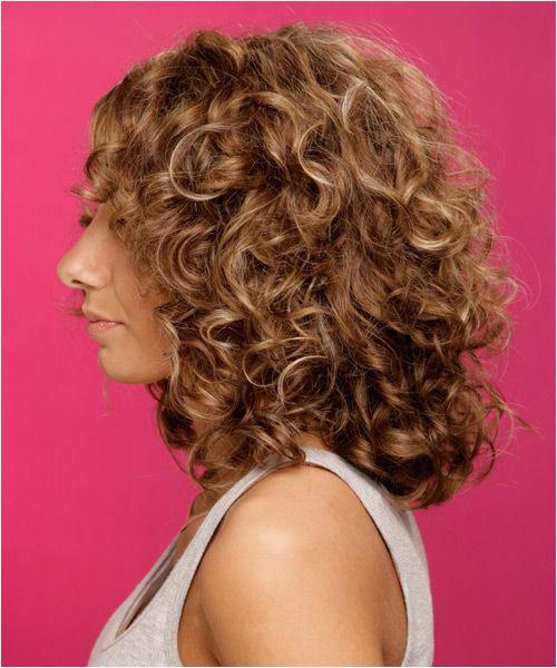Medium Curly Formal Hairstyle Chestnut Brunette Hair Color Hair ideas Pinterest