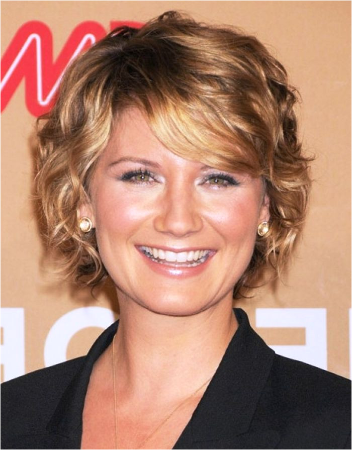 Short Curly Hairstyles for Fine Hair over 50 blr