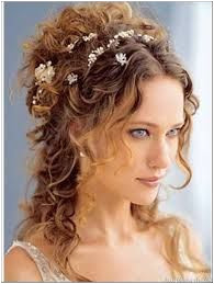 ideal for brides who like curls or have natural curly hair Prom Hairstyles Trendy