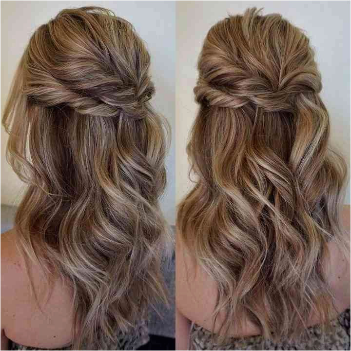 Curly Half Updo Hairstyles for Prom 36 Luxury Pics Prom Hairstyles for Long Hair Half Up