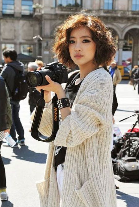 Curly hairstyles can be worn by anyone and everyone If you ve got curly hair and it tends to frizz use […] Good Asian Short