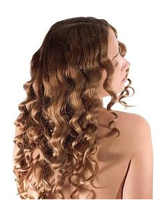 """Make this hairstyle with a """"3 Barrel Waver"""" Its my new love"""