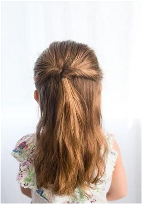 These easy hairstyles for girls can be created in just minutes Follow these steps for