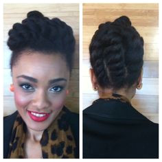 Best Medium Hairstyle protective natural hairstyles2 Page 1