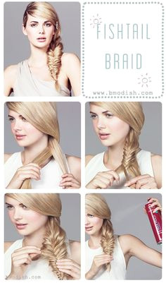 Five Minutes Hairstyle Ideas From Bmodish