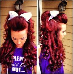 Cute Cheer Hairstyles 243 Best Cheer Hair Images