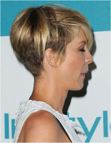 Cute Hairstyles 2012 Jenna Elfman In 10th Annual Instyle Summer soiree Arrivals