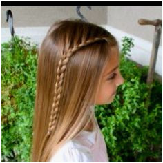 cutegirlshairstyles lace braid This is THE BEST site and channel for little · Little Girl HairstylesPretty