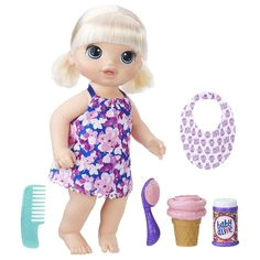 Baby Alive Magical Scoops Baby doll Blond Hasbro NIB HasbroBABYALIVE DollswithClothingAccessories Baby