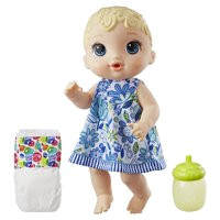 Product Image Baby Alive Lil Sips Baby Straight Blonde Hair Ages 3 and up