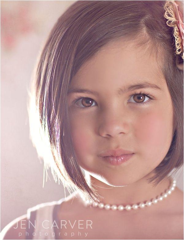 cutest little girl hair cut ever This will be Abigail s summer hair cut Good bye tangles