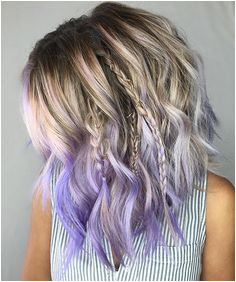Nice dip dye hairstyle I absolutely adore those braids