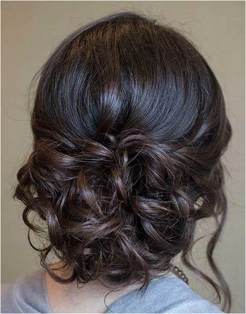 20 Prom Updos for Long Hair UpdosLongHair Junior Bridesmaid Hairstyles Bridesmaid Hair Curly