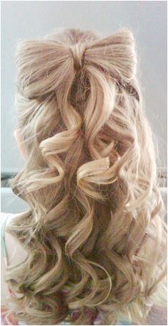 Prom Hairstyle With Hair Bow Flower Girl Hairstyles Curly Prom Hairstyles Little Girl Wedding