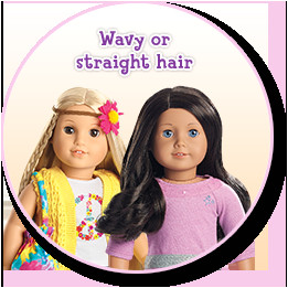 For best styling results lightly mist your doll s hair with water as needed before you brush or pick it Use just enough water to make the hair easier to