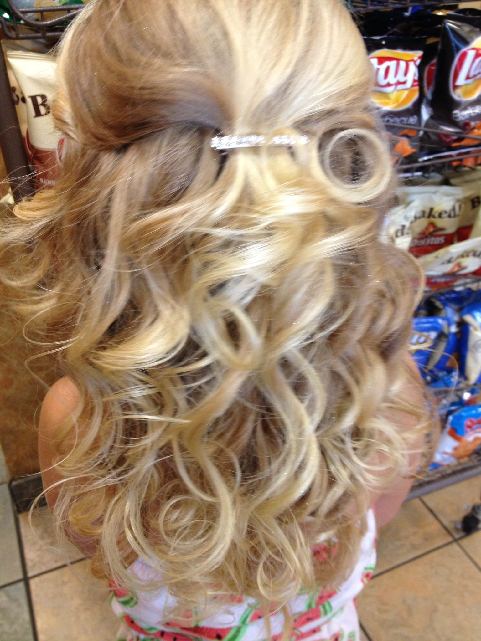 Pageant hair