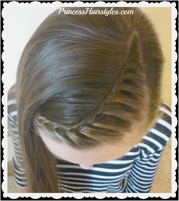 4 Cute Hairstyles For School Quick and Heatless Part 4