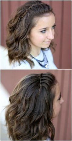 17 Wonderful Waterfall Braid Tutorials for Your Luscious Locks
