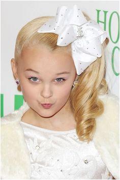 jojo swia JoJo Siwa Wavy Golden Blonde Hair Bow Ponytail Hairstyle